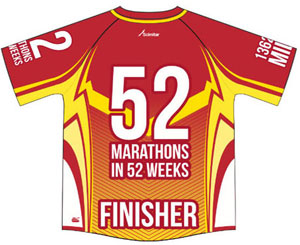52 Marathons in 52 Days - Click Here to Find Out More!